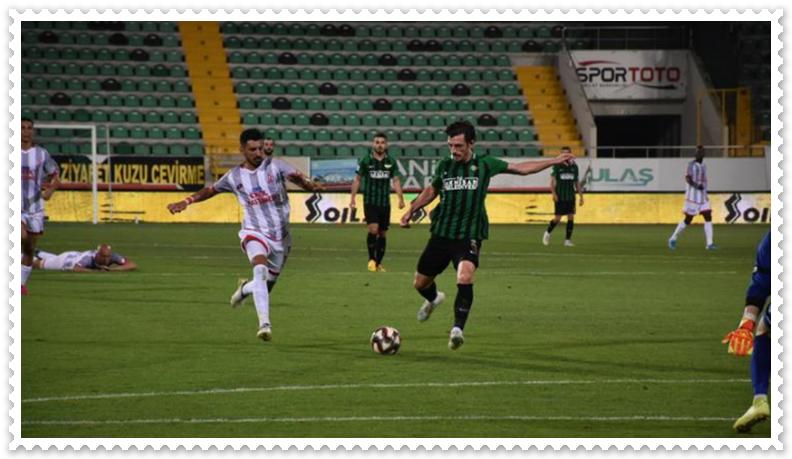 Akhisarspor Balıkesirspor Maçı 3-1