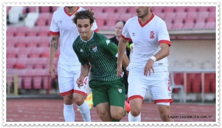 Balıkesirspor Bursaspor Hazırlık Maçı 1 – 1
